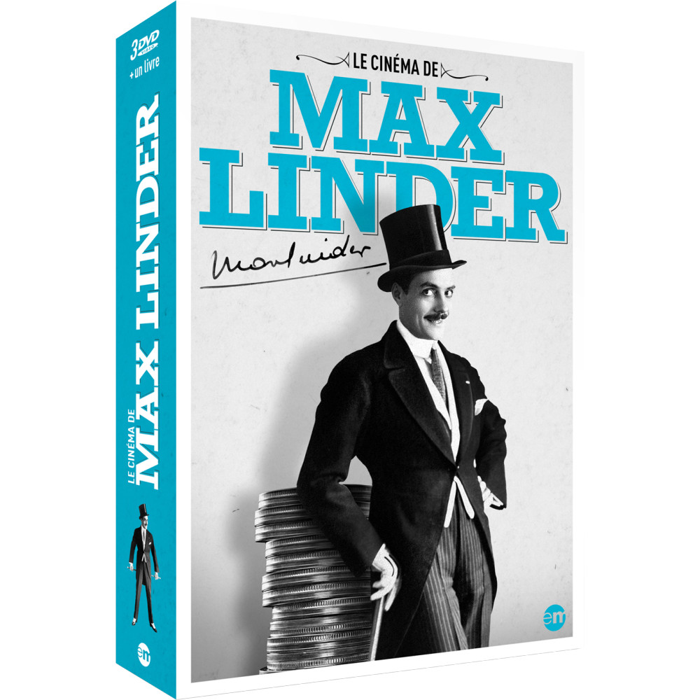 le cin ma de max linder coffret 3 dvd editions. Black Bedroom Furniture Sets. Home Design Ideas
