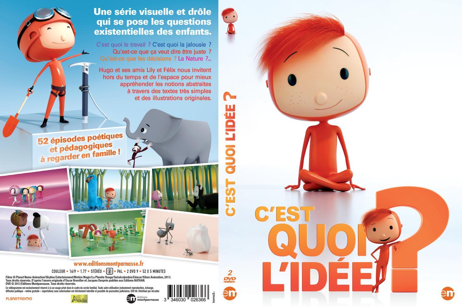C Est Quoi L Idee Coffret 2 Dvd Editions Montparnasse La